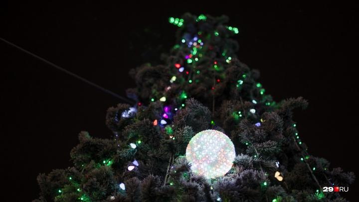 Настроение — ждать праздника: смотрим, как Архангельск преображается к Новому году