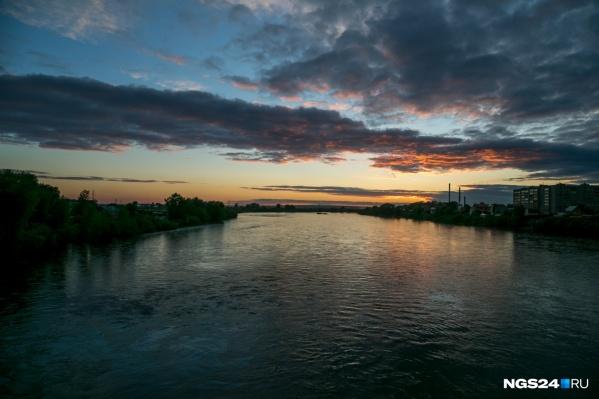 Река Кан проходит через Канск и Зеленогорск