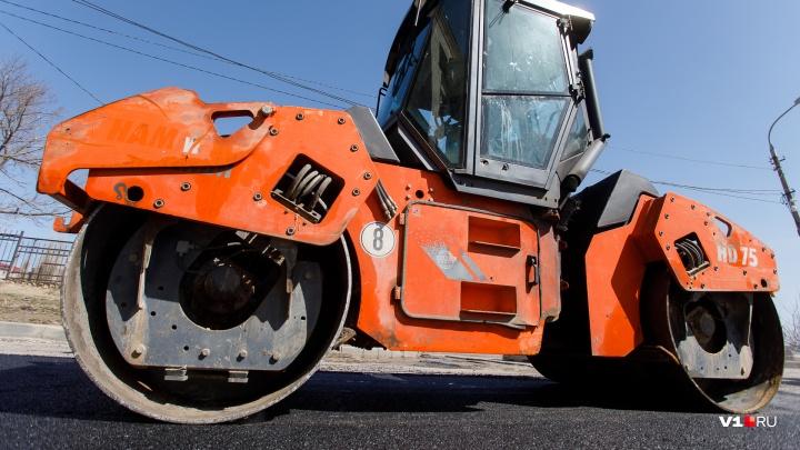 В Волгоградской области за 150 миллионов построят четыре километра сельской дороги