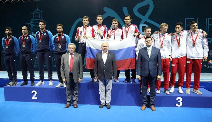 Башкирские рапиристы стали чемпионами Европы по фехтованию
