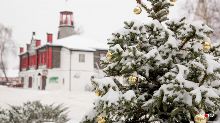 Зимние праздники в Вятском