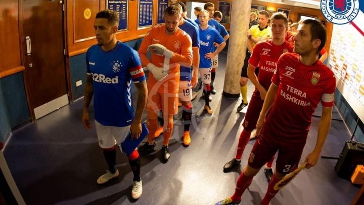 Исторический матч: ФК «Уфа» примет в домашних стенах шотландский «Рейнджерc»