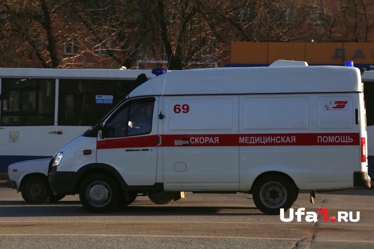 ВБашкирии больной угнал автомобиль скорой помощи