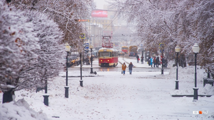 Февраль подобрел: вторая половина недели будет в Екатеринбурге снежной, но теплой