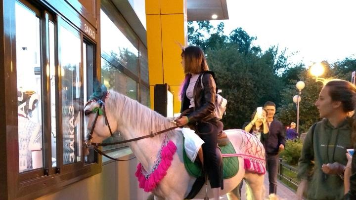 Водили коня в кафе, жгли одуванчики: смотрим 10 крутых кадров, как Тюмень встретила это лето