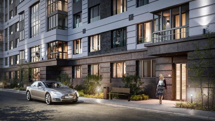 На Красном проспекте построят жилой комплекс с аллеей вечнозеленых деревьев