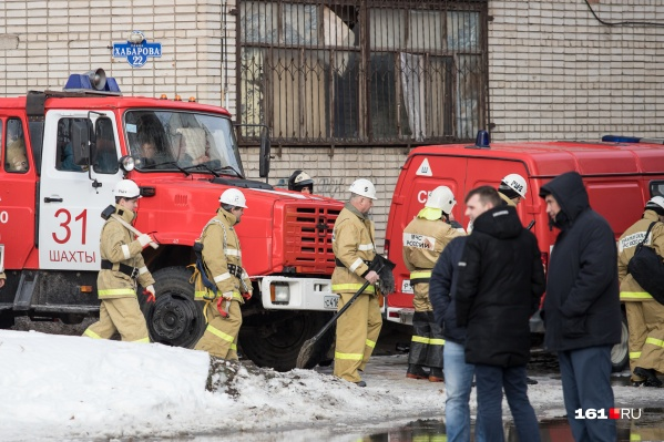 Из-за резкого похолодания у пожарных прибавилось работы