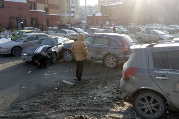 ДТП на улице Ядринцевской случилось около 17:15
