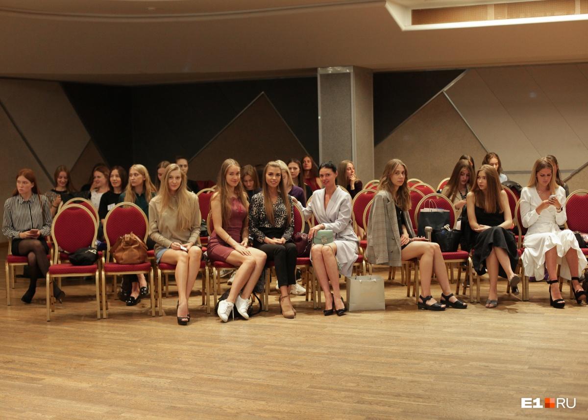 На конкурс приглашали девушек до 25 лет