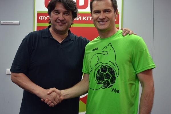 Гендиректор компании поздравил Дмитрия Кириченко