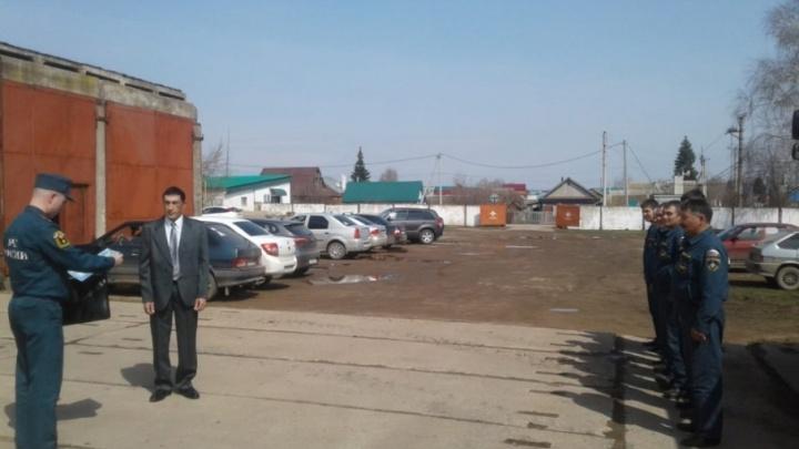 В Башкирии мужчина спас город от взрыва бензозаправки