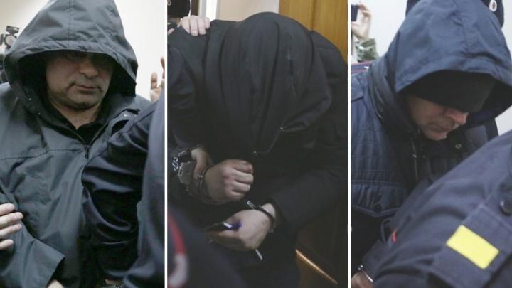 Репортаж из зала суда: в Уфе арестовали всех трех подозреваемых в изнасиловании девушки-дознавателя