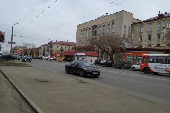 Улица Пролетарская от серых тонов перейдет к белым и желтым