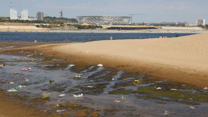 «Не дойдет»: волгоградцы предлагают ввести штрафы для бросающих на пляже мусор земляков-«свиней»