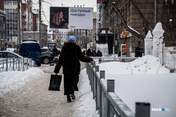 На улицах города гололёд был и на прошлой неделе, и на этой. Многие новосибирцы жалуются на то, что ходить невозможно