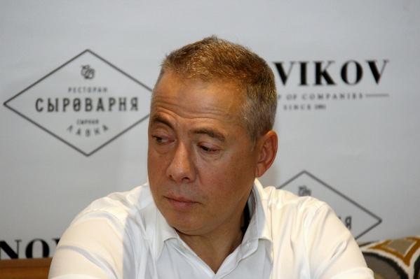 «Сыроварня» стала первым проектом Аркадия Новикова (на фото) в Новосибирске