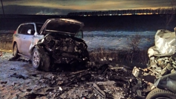 Водитель Toyota шел на обгон: появилось видео момента ДТП с четырьмя погибшими под Самарой