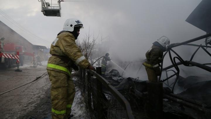 Водитель сгоревшего утром в Уфе ПАЗа пытался скрыться