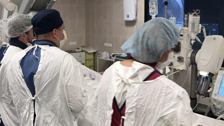 Меньше облучения: в самарский кардиодиспансер поступило новое оборудование