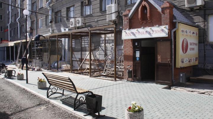 За гостиницей «Центральная» появится ресторанная улочка с хот-догами и димсамами