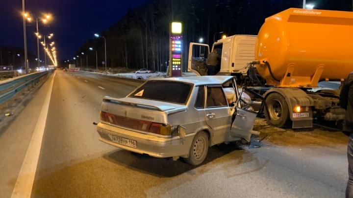 «Выезжал с заправки против движения»: подробности аварии на Московском тракте