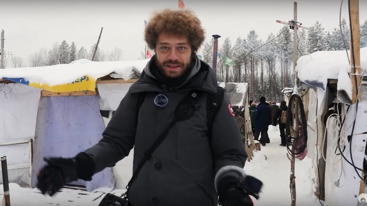 «Такого масштабного протеста современная Россия еще не знала»: Илья Варламов выпустил фильм про Шиес