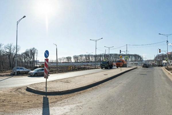Оформление примыкания Московского шоссе к Ракитовскому завершили осенью прошлого года