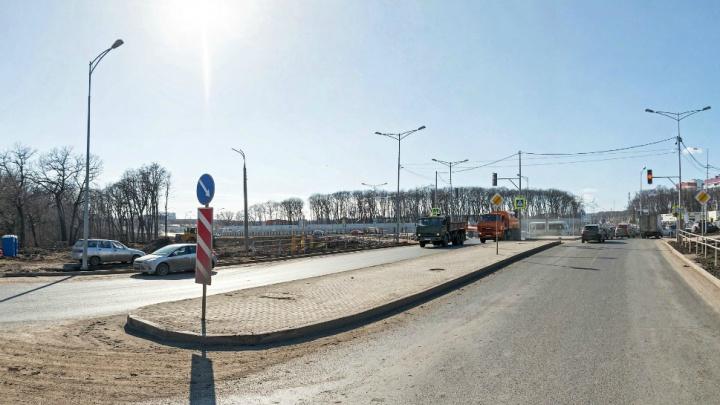 В Самаре хотят оборудовать примыкание Московского шоссе к Ракитовскому