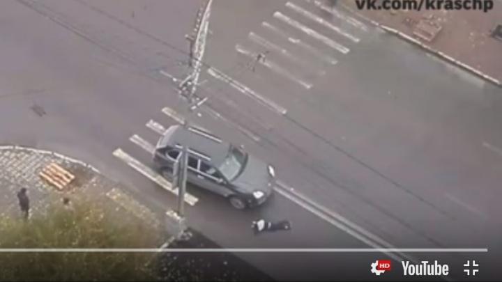 Мальчик бросился под колеса запутавшегося в дороге «Порше»