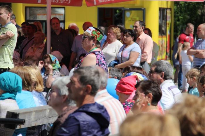 Днем 4 июня жители Новосибирска собрались в Центральном парке на праздник«Сибирский Сабантуй-2017»