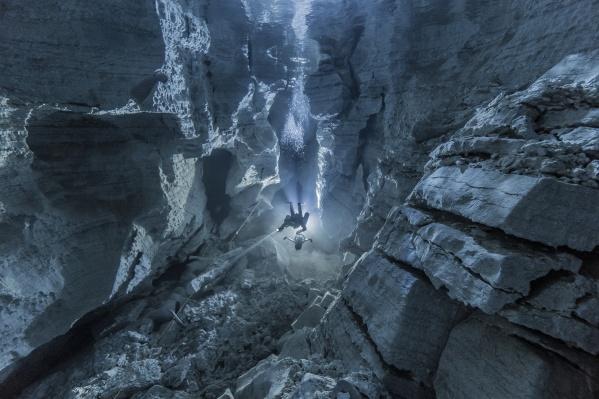 Грот Майской галереи Ординской пещеры