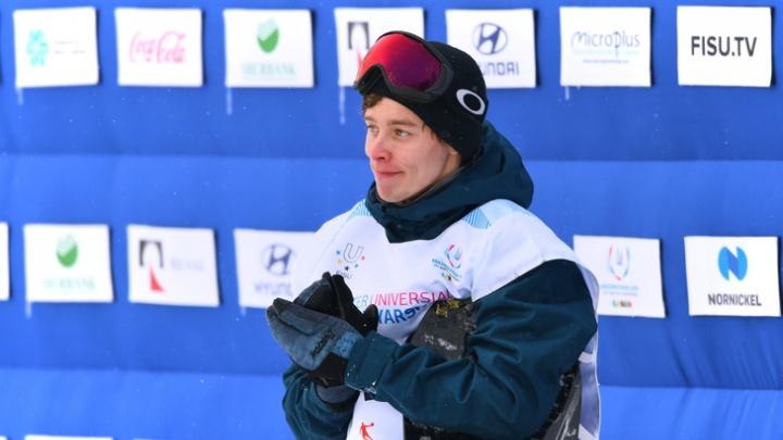 «В России такого никто не делает!»: сноубордист из Екатеринбурга завоевал золото на Универсиаде