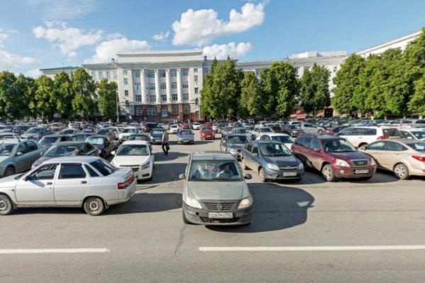 Совсем скоро парковка может превратиться в парк