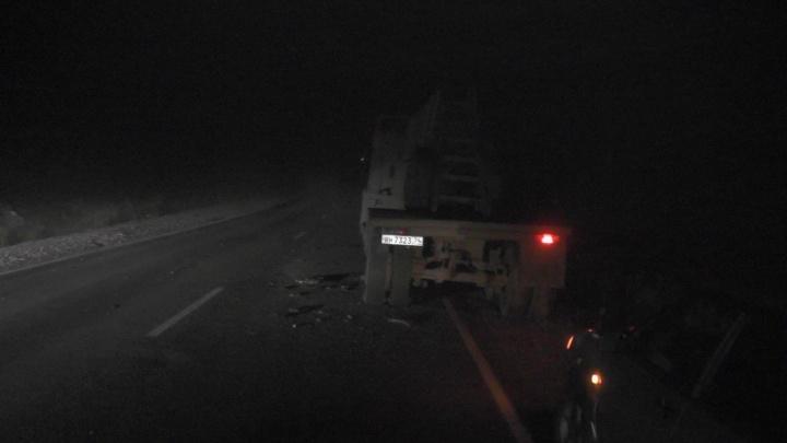 Подросток погиб в ДТП с грузовиком под Карабашом