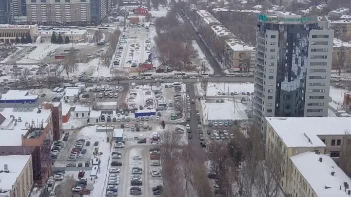 От Крымской площади до «Пятнашки»: видеоблогер показал, где в Самаре пройдет магистраль Центральная