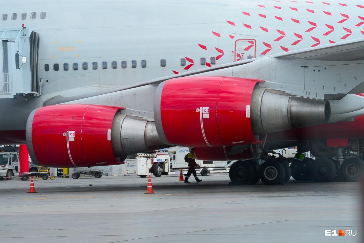 Это один из крупнейших в мире пассажирских самолетов