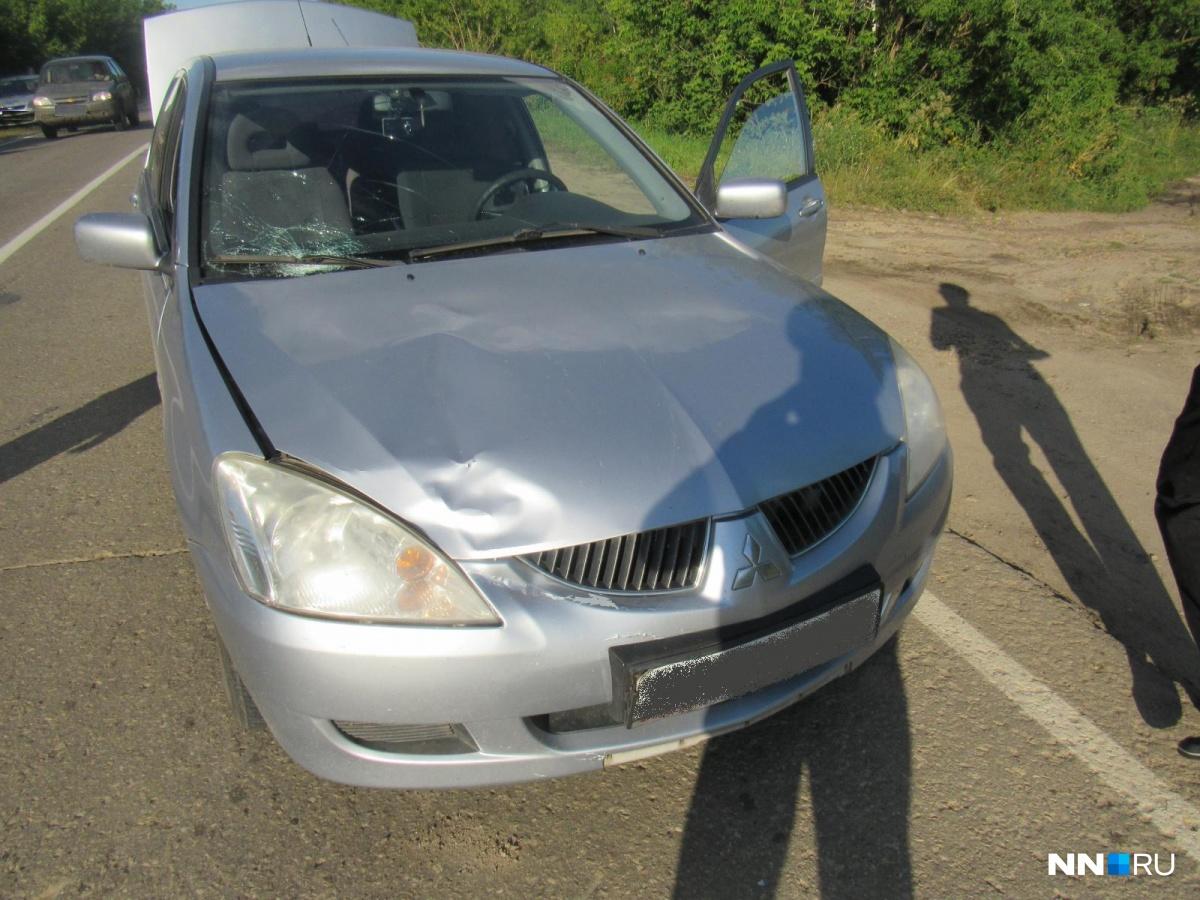 ВНижегородской области 15-летняя девочка погибла под колесами Мицубиши