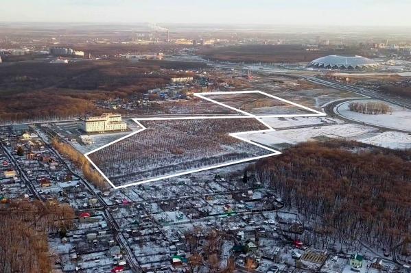 Земли недалеко от стадиона — лакомый кусочек для застройщиков