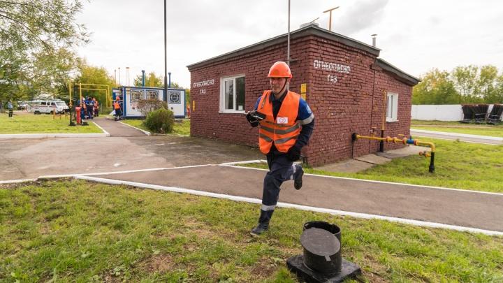 Отрабатывали действия в реальных условиях: газовики провели конкурс среди аварийных бригад
