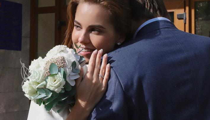«Ура, жена!»: уральская модель Дарья Клюкина показала видео со свадьбы в Италии