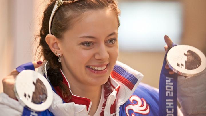 Новосибирская биатлонистка Ольга Вилухина родила сына
