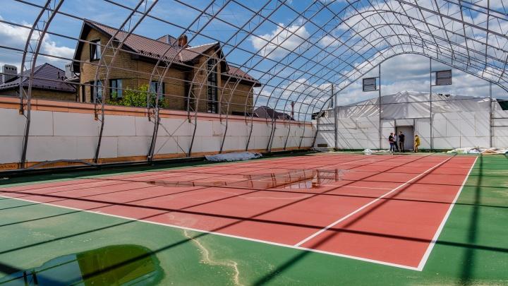 Пермские власти предлагают перенести теннисный корт с Ивы на новое место