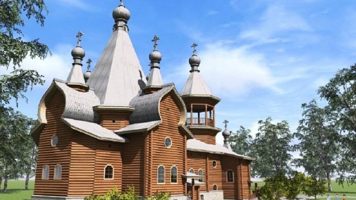 В вельской колонии изготовят деревянный храм для Канады за шесть миллионов рублей
