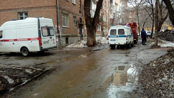 Подбросили гранату? Правоохранители оцепили жилой дом на Гагарина