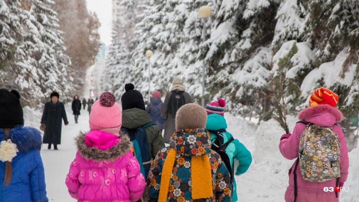 В Самарской области учителя наказали за перевод детей через дорогу в неположенном месте