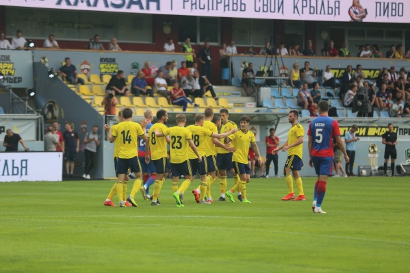 Все голы ростовская команда забила в первом тайме