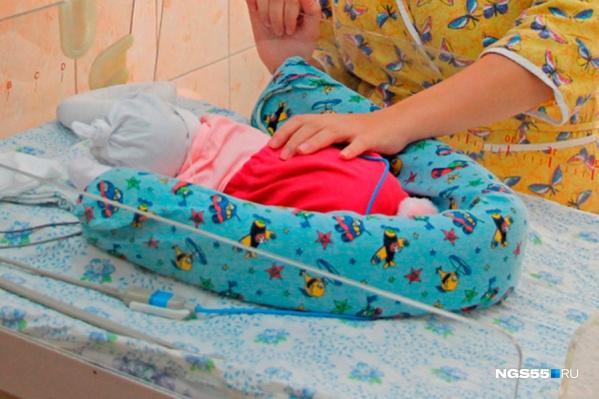 В начале жизни дети очень тяжело переносят болезни