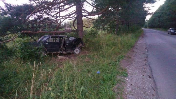 До суда дошло дело подростка, который сел за руль пьяным и с двумя пассажирами въехал в дерево