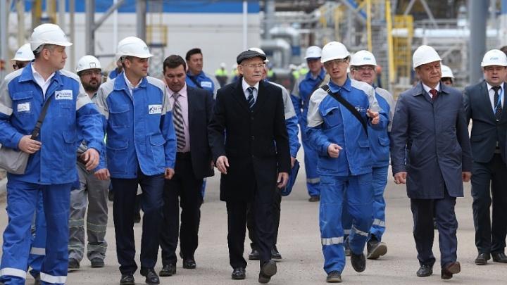 В Башкирии открылся акриловый завод
