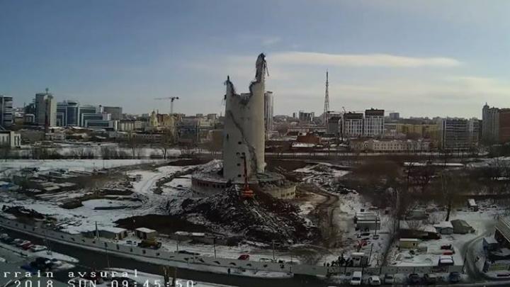 Ломать и строить: как екатеринбуржцы смогут повлиять на проект гигантской арены на месте телебашни